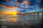 Sunset-at-Naples-Pier-Collier-County-Florida
