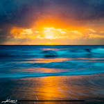Ocean-Wave-at-Beach-Glorious-Sunrise