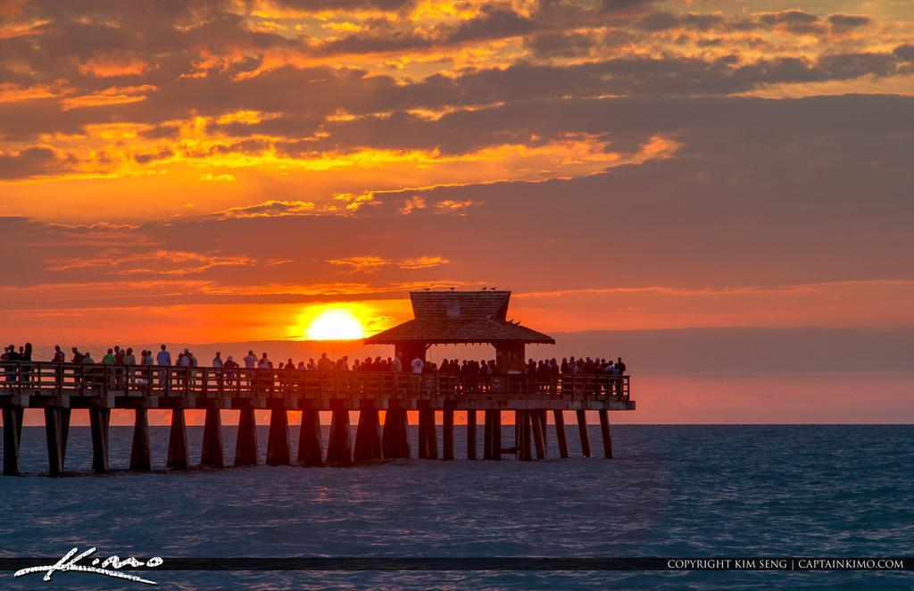 Wallpaper Naples Florida: Full-House-Naples-Pier-Sunset By CaptainKimo On DeviantArt