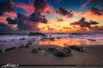 Beautiful-Beach-Rocks-Coral-Cove-Park-Sunrise