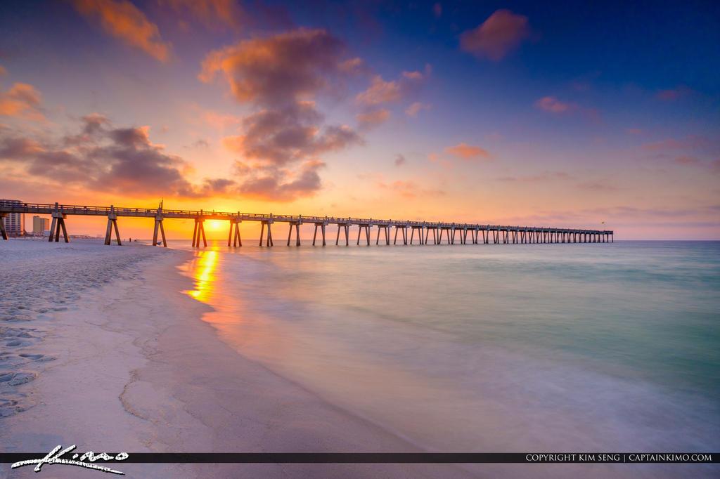 Pensacola Beach Gulf Pier Pensacola Beach Florida