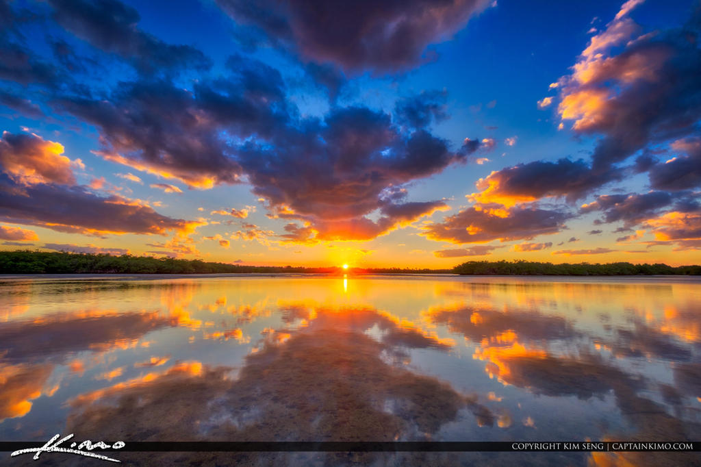 Sunset-Lake-Worth-Lagoon-Singer-Island-Florida by CaptainKimo