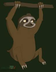 Sloth by AlexisCostopoulos