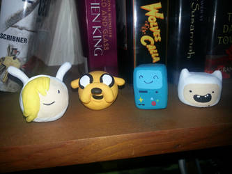 Adventure Time Mini Busts