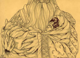 Harry in Dumbledore's Arms by PrimeHunter
