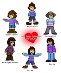 The Many Versions of Frisk~