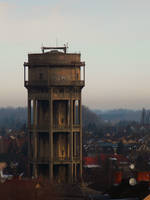 Old water tower by maybenoyes