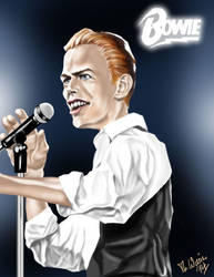 David Bowie (The Thin White Duke) by totti72