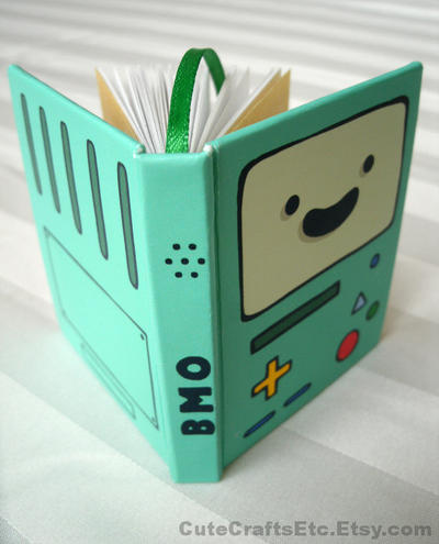 BMO Mini Book - Adventure Time by MyFebronia