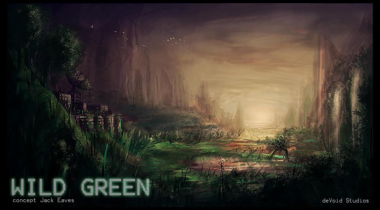 Wild Green by JackEavesArt