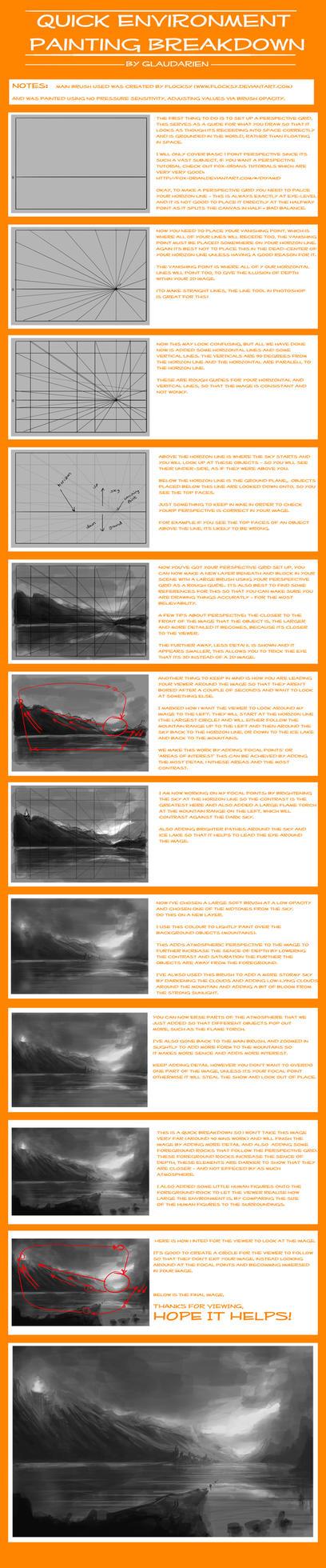 Quick Environment Breakdown by JackEavesArt