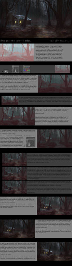 If you go down to the woods today... TUTORIAL