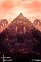 BUSHIDO: City of Ryu by JackEavesArt
