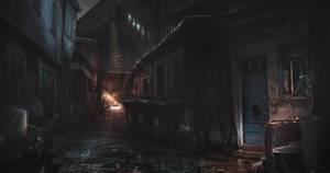 Alleyway Night