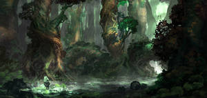 KOBO: Ancient Forest by JackEavesArt