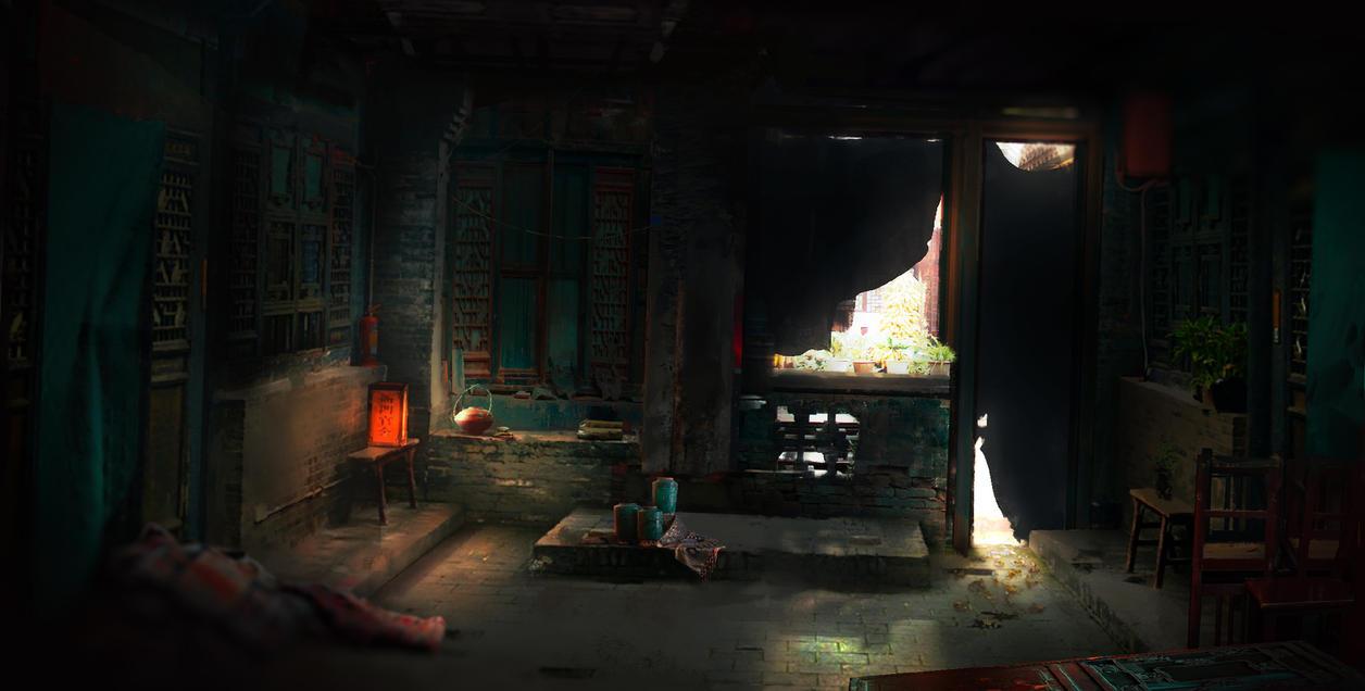 Sat In The Corner by JackEavesArt