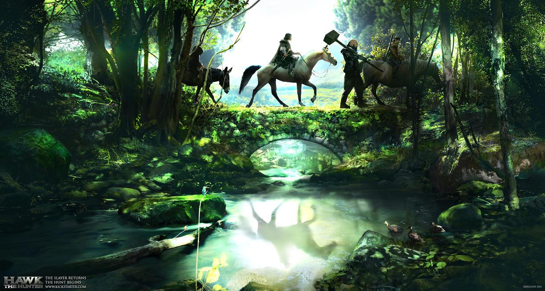 Hawk Horseback Upload by JackEavesArt