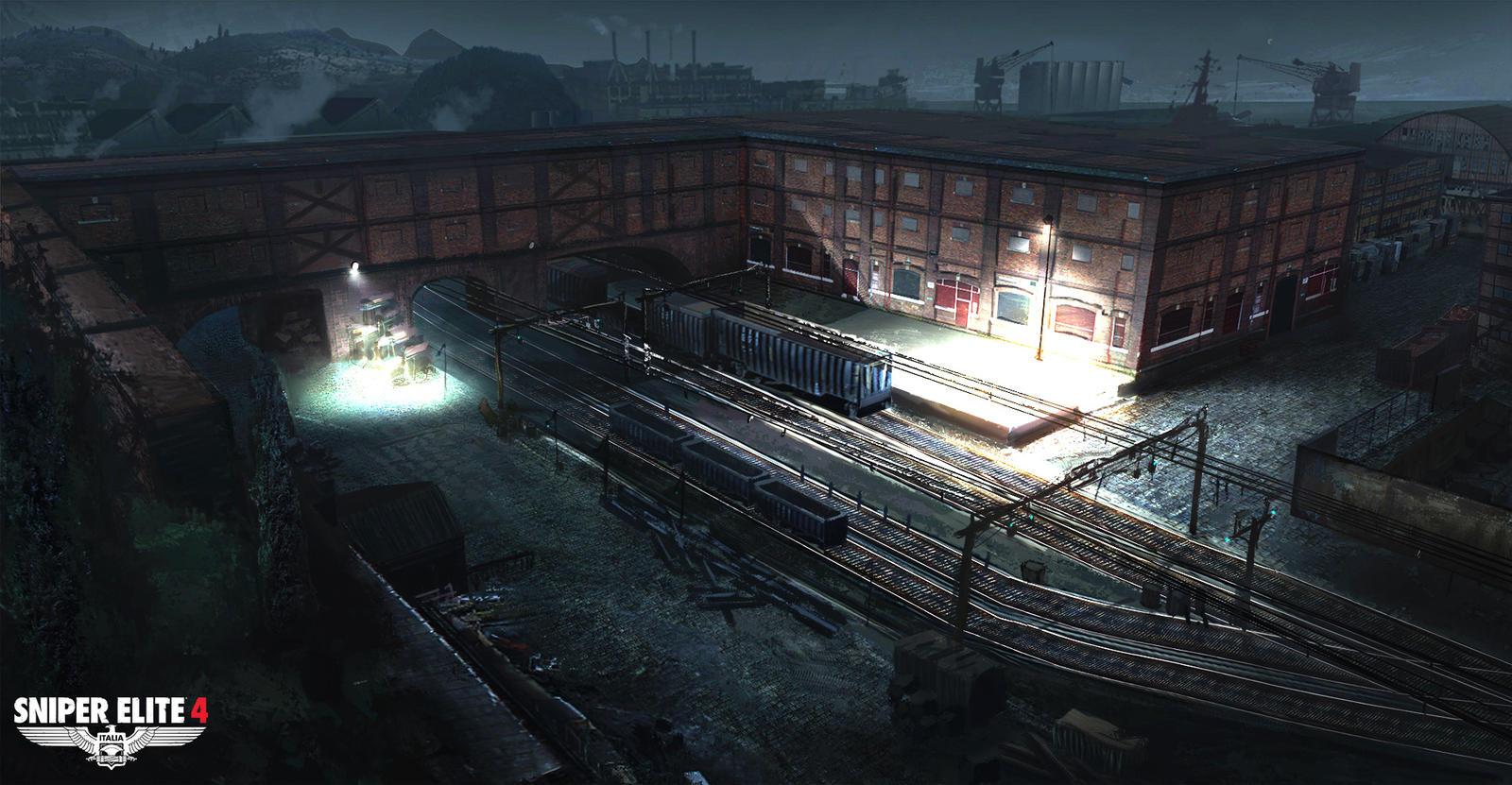 Sniper Elite 4 Concept 12 by JackEavesArt