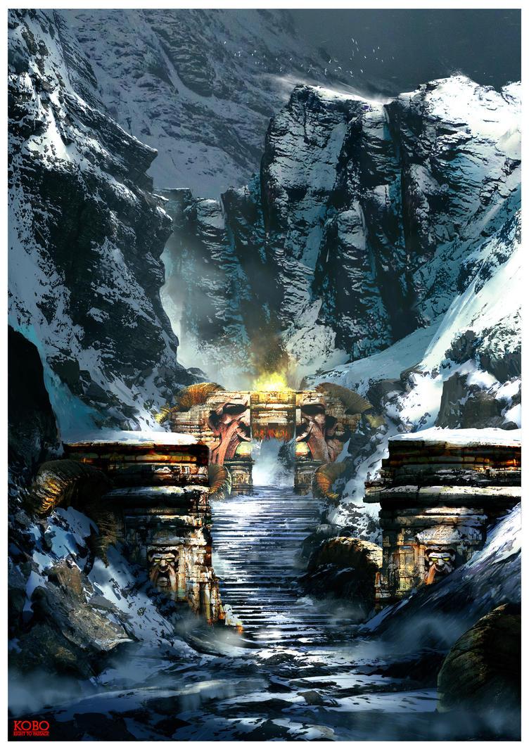 KOBO Muruan Gates by JackEavesArt