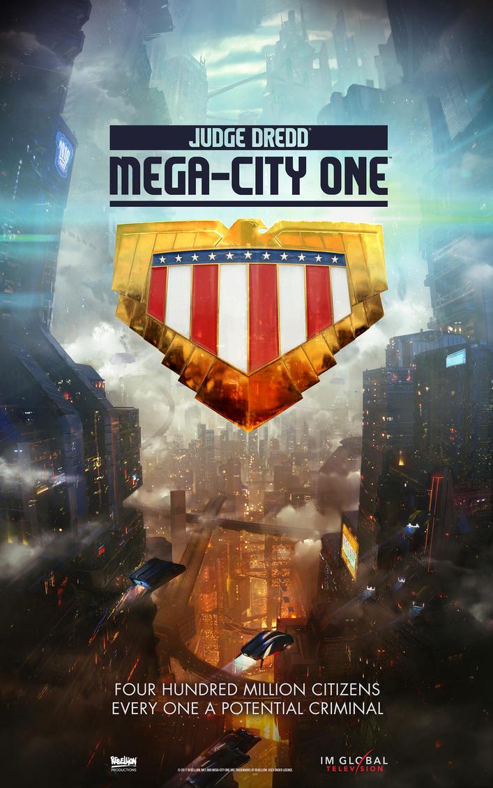 Judge Dredd : Mega-City One TV by JackEavesArt