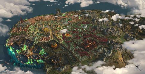 Chairoscuro City