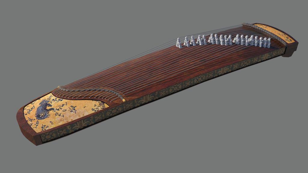Guzheng by FCLittle