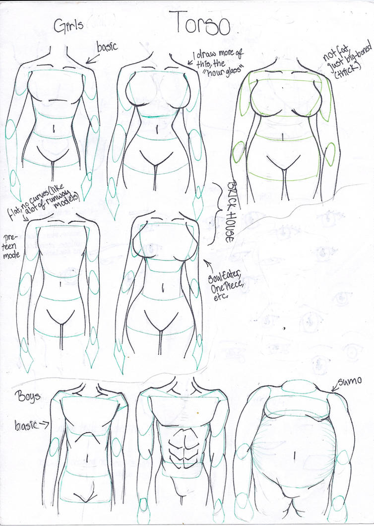 Line Drawing Woman Body : How to draw different body types by takaya ame on deviantart