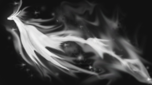 Dragon Patronus by Jennidoodles