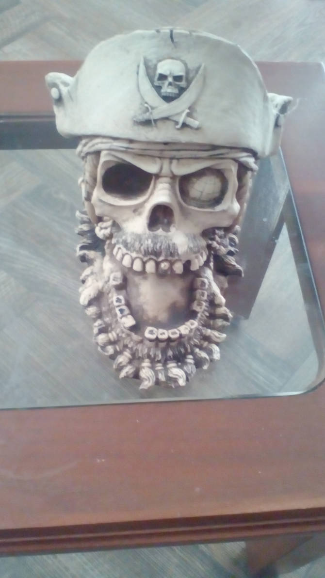 PIRATA SKULL by ascencioirving