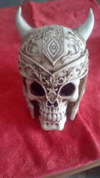 CAUDILLO SKULL by ascencioirving