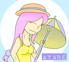 Ayane. FAN ART: Porkchop 'n Flatscreen by SLEON13