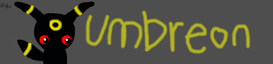 chibi umbreon by Umbreon-MoonCandy