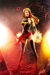 Emily Blunt as Ms Marvel