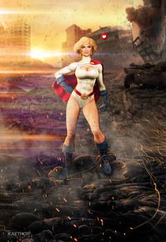 Kate Upton as Power Girl