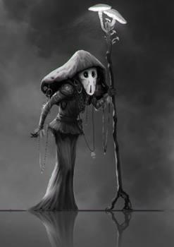 Character design sketch- The Mushroom Shaman