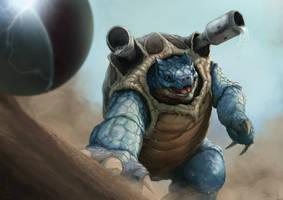 Attack Hydro Cannon! by DottorFile