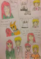Kushina And Naruto-BNHA AU