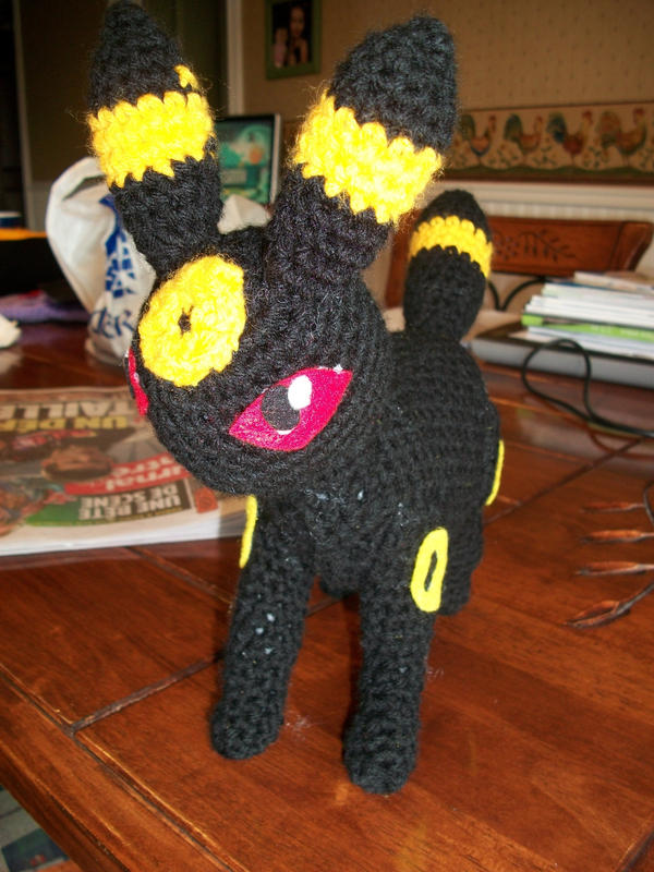 Umbreon amigurumi by Sasophie on DeviantArt