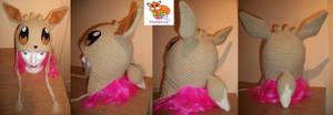 Eevee crochet beanie by Sasophie