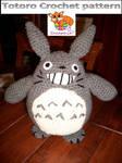 Totoro crochet pattern