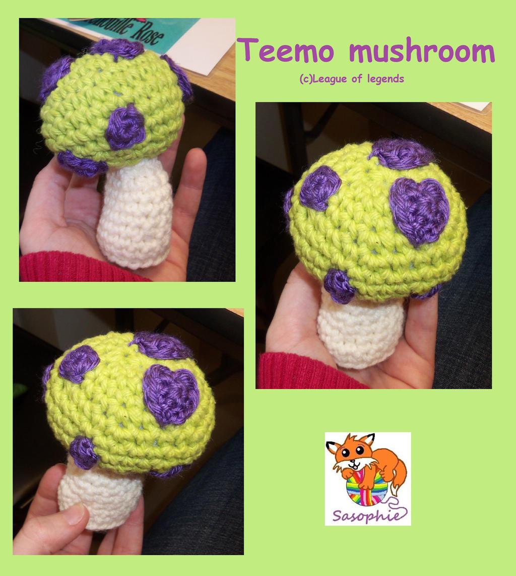 Teemo mushroom by Sasophie