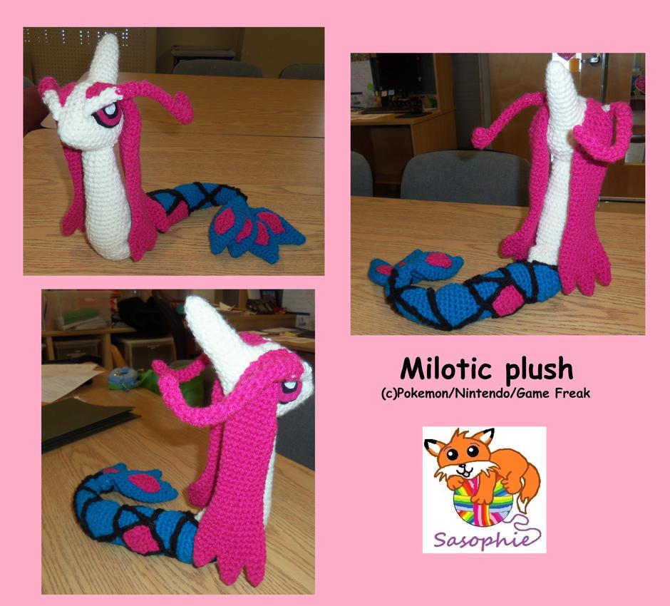Milotic plush by Sasophie