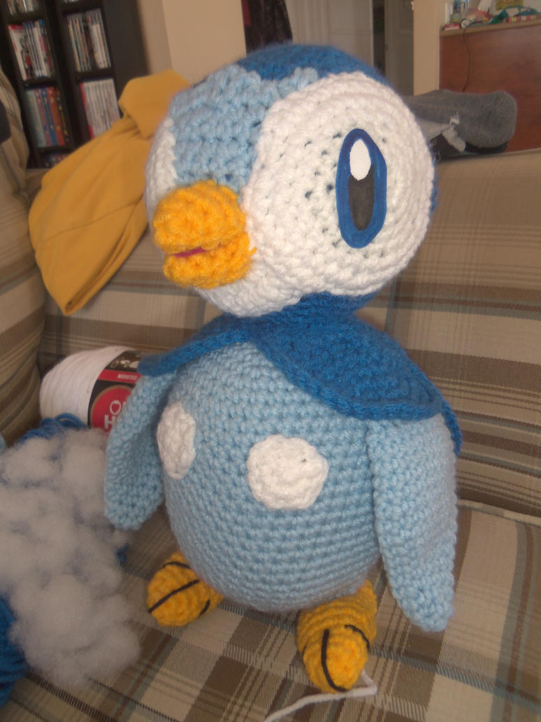 Piplup crochet plush by Sasophie