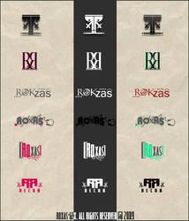 Roxas Logos by Roxas-GFx