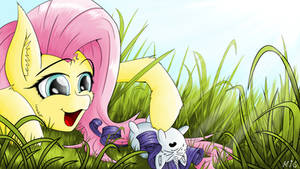 Fluttershy's New Toy
