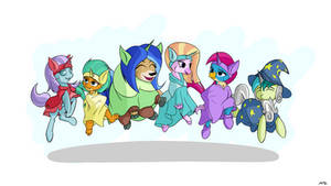 Step! Buck! Leap! Touch! by ManeInGreen