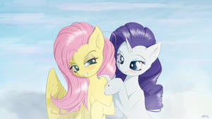 Miss Shy and Miss Rarity's Secret Dates by ManeInGreen