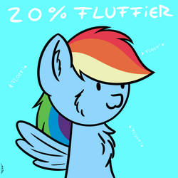 20% fluffier by ManeInGreen