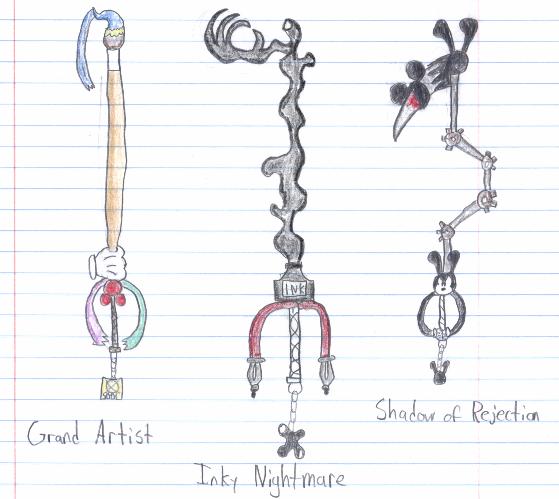 Oswald The Lucky Rabbit Keyblade