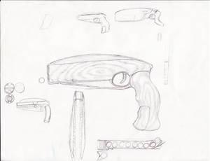 weird gun from an old dream